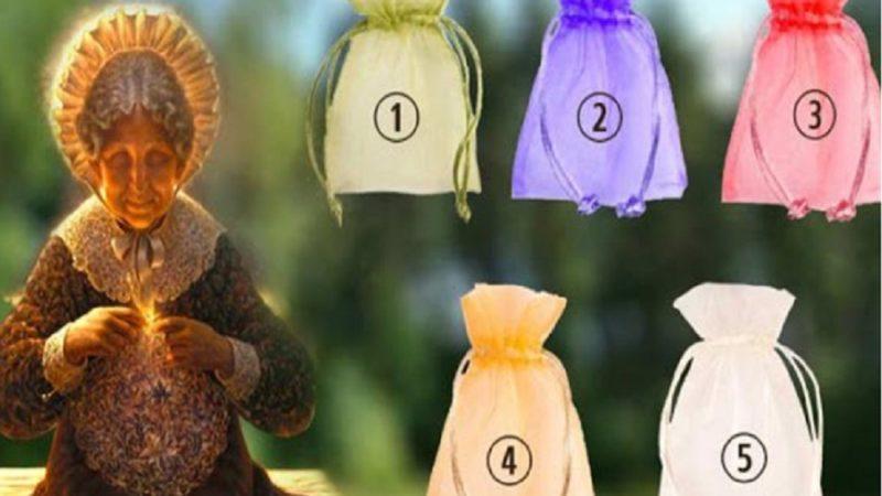 Ընտրեք պարկը և բարի տատիկից ստացեք ձեր նվերը